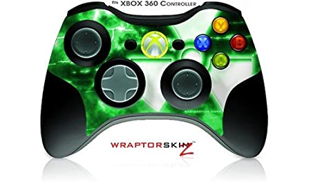 XBOX 360 Wireless Controller Decal Style Skin - Radioactive Green (Controller Not Included)