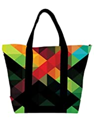 Snoogg Digital Aztec Revolution Womens Large Shoulder Tote Bag