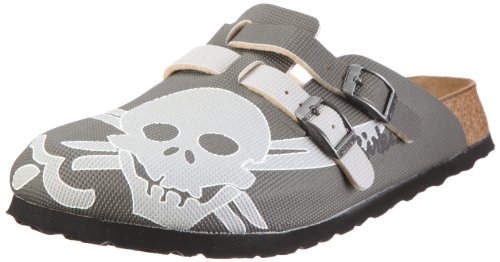 Birki Unisex - Adults CAMDEN Skull Gray 529213 Clogs & Mules Grey EU 39