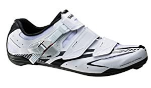 Shimano 2014 Mens Full-Featured Light Weight Performance Road Cycling Shoes - SH-R170 by Shimano