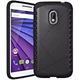 Sanchar's Original Hybrid Ultra Thin Shockproof Back + Bumper Case Cover For MOTO G4 PLUS (Moto G Plus, 4th Gen),(Black)
