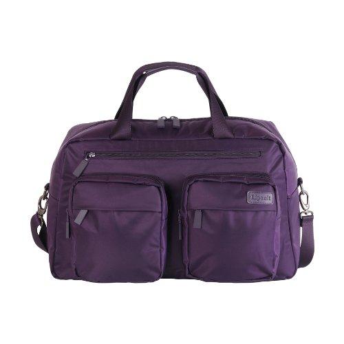 lipault-paris-weekend-bag-purple-one-size