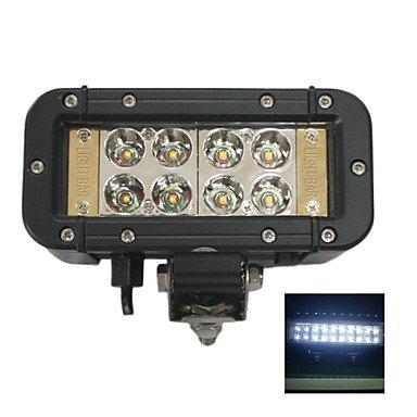 "Commoon Liancheng? 6"" 24W Double Row Reflector Cree Led Light Bar For Off-Road,Utv,Boat"