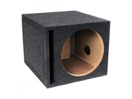 Absolute Usa Single 10-Inch Slot Vented Ported Subwoofer Enclosure