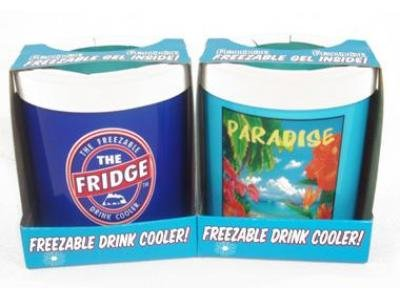 Freezable Can Coolers: Fridge Freezable Can Cooler - Sold Individually