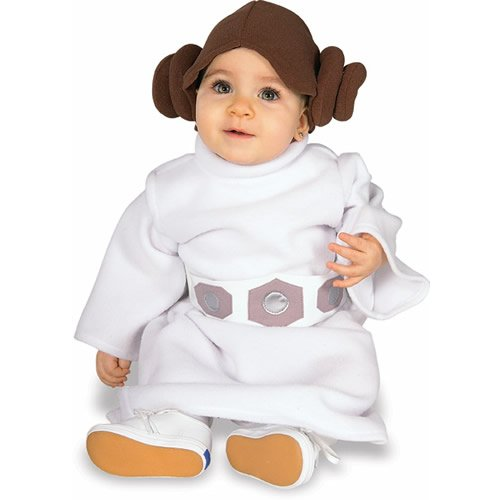 Star Wars Princess Leia Toddler Fancy Dress Costume 1-2 Years