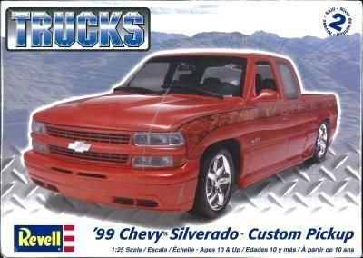 Models - Cars & Trucks Case Pack 7 (Revell Model Silverado compare prices)