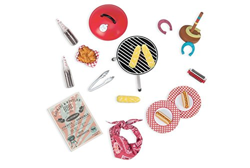 Our Generation Barn Dance & BBQ Accesory Set for 18