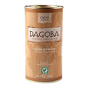 Dagoba Organic Chocolate Organic Cacao Powder, 8 oz