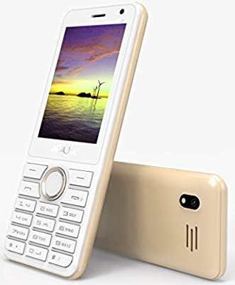 Aqua Mist - 2100 mAh Battery - Dual SIM Basic Mobile Phone - Gold