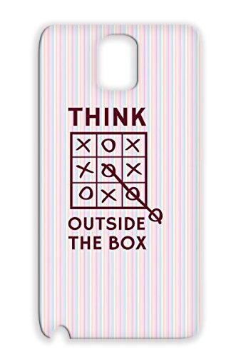 Game Art Design Illustration Funny Think Games Humor Motivational Tic Tac Goe Tpu Pink Think Outside The Box Toe For Sumsang Galaxy Note 3 Protective Case