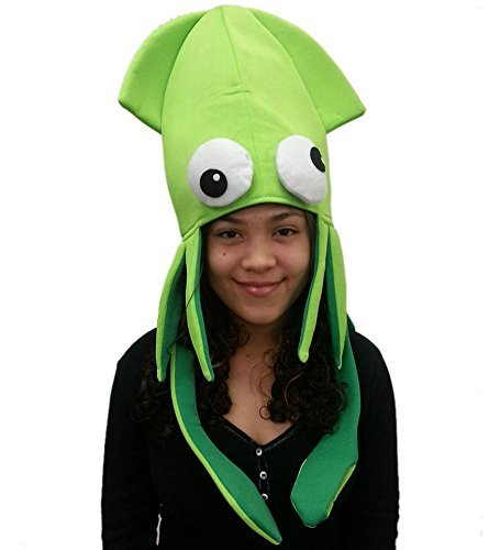 9ea2e41e Squid Hat - Funny Fun and Crazy Hats in Many Styles - Funny - Import ...
