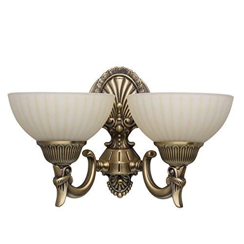 applique-style-classique-antique-armature-en-metal-couleur-laiton-plafonniers-en-verre-2-ampoules-e2