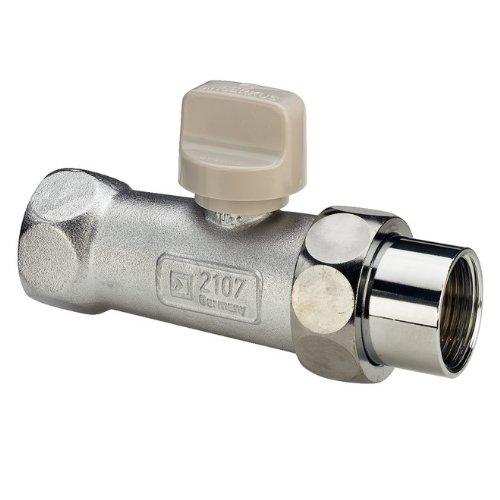 """Viega Gasgerätekugelhahn (gas Kugelhahn) 3/4"""" / DN20, Messing, mit thermischer Abschlusseinheit (TAE), DIN-DVGW-G-Prüfzeichen"""