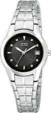 Citizen Womens EW1410-50E Eco-Drive Stainless Steel Watch