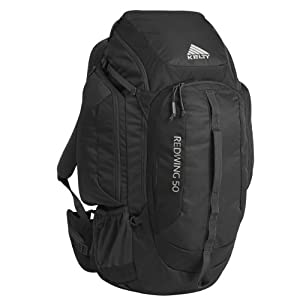 Kelty Redwing 50-Liter Backpack, Black, Small/Medium