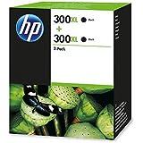 Hp 300xl 2-pack High Yield Black Original Ink Cartridges D8J43AE