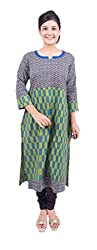 Krivi By Kk Women's Cotton Kurti (KRV-28-C_Multi-Coloured_L)