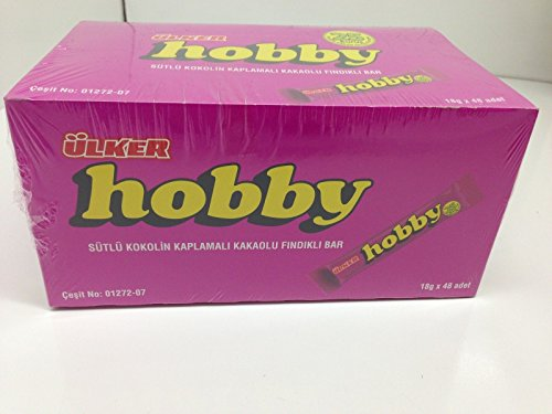 Ulker Hobby Chocolate With Hazelnut and Cocoa