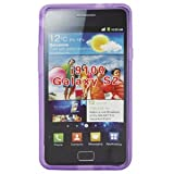 7dayshop Soft Gel Case for Samsung Galaxy S2 (II) (i9100) - Purple