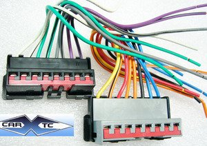 Amazon.com: Stereo Wire Harness OEM Ford Mustang 94 95 96 ...