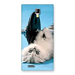 Special Fit Cat Multicolor Back Case Cover for Micromax Canvas Xpress A99