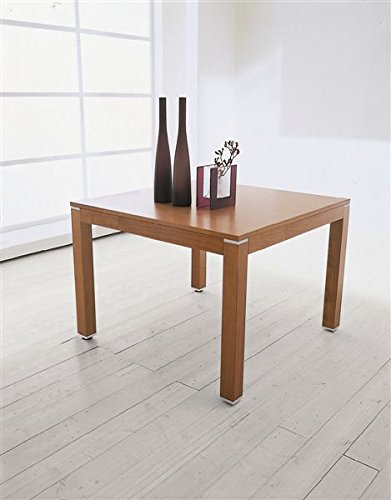 Table Hyper Santarossa Extensible Carré Fini Cerisier TA1420C Dim. L.105. P.105 180/75 cm