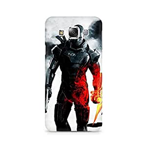 Mobicture Ultimate Leader Premium Printed Case For Samsung E5