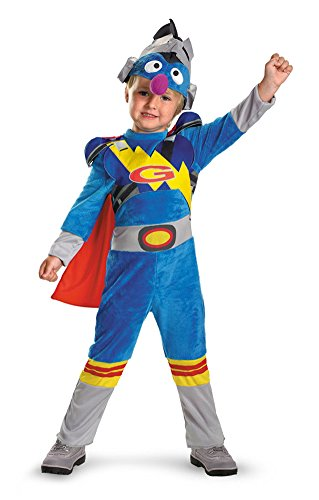 boys - Grover 2.0 Comfy Fur Kids Costume 12-18 Halloween Costume
