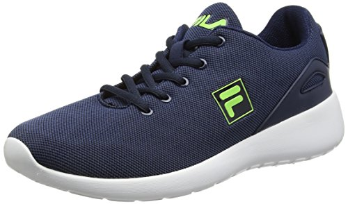 FilaFURY RUN - Scarpe da Ginnastica Basse Uomo , Blu (Blu (Dress Blues)), 42