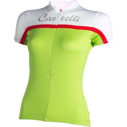 Buy Low Price Castelli Promessa Short Sleeve Women's Jersey (B004P8H7A4)