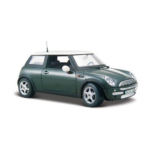 Maisto-31219-Modellauto-124-Mini-Cooper-metallic-grn