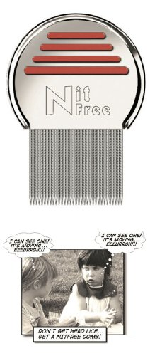 Nitty Gritty Head Lice Metal Comb