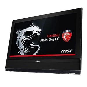 "MSI AG2712-002 Ordinateur Gaming Tout-en-Un 27"" (68,58 cm) Intel Core i7 2,4 GHz 1000 Go 12288 Mo NVIDIA GeForce GTX 670MX 3 Go Windows 8 Noir"