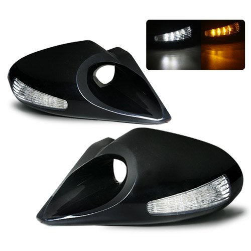 1996-2003 Bmw E39 Z4 Style Led Manual Side Mirrors