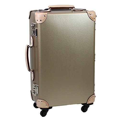 【MOIERG】キャリーバッグ 純国産 バルカナイズドファイバートランクケース(ゴールド)【83-75002-90】  …