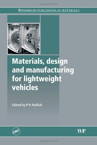 Materials, Design and Manufacturing for Lightweight Vehicles (Woodhead Publishing Series in Composites Science and Engin