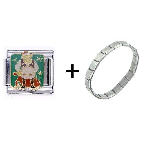Pugster Shrek Italian Charm Bracelets