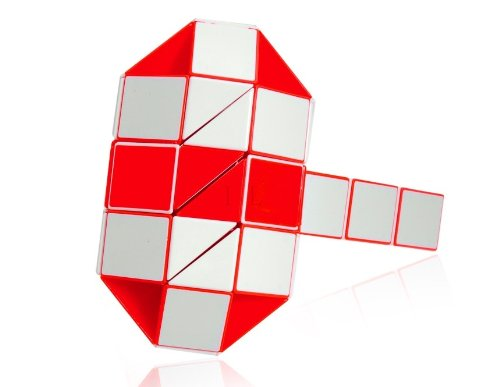 rubik s transformable snake twistable puzzles A rubik's snake (aka the rubik's twist, rubik's transformable snake, rubik's snake puzzle) is a toy with twenty-four wedges identically shaped liked prisms, specifically right isosceles triangular prisms.