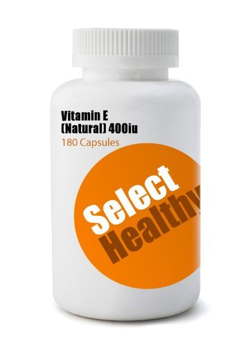 Select Healthy Vitamin E 400iu (180 Capsules)