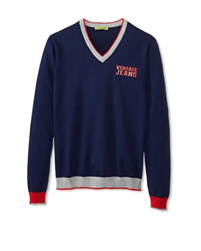 Versace Jeans Men's Tipped Sweater