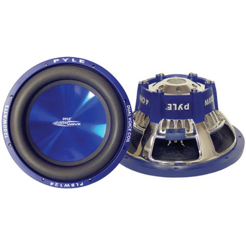 """Brand New Pyle Blue Wave Series High-Powered Subwoofer - 8"""", 600W Max"""