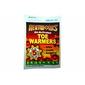 Ammex HW Heatworks Air-Activated Emergency Adhesive Toe Warmers (Case of 288) by Ammex