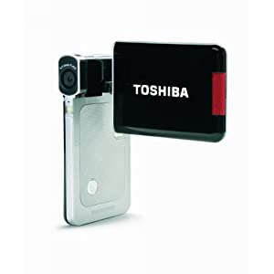 Toshiba Camileo S20 Full-HD Pocket Camcorder (Silver/Black)