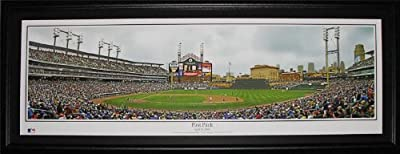 Detroit Tigers Comerica Park First Pitch Baseball Panorama frame