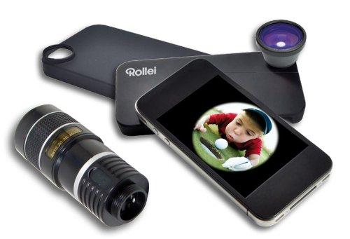 Rollei 8x Tele fish Teleobjektiv für iPhone G4, G3