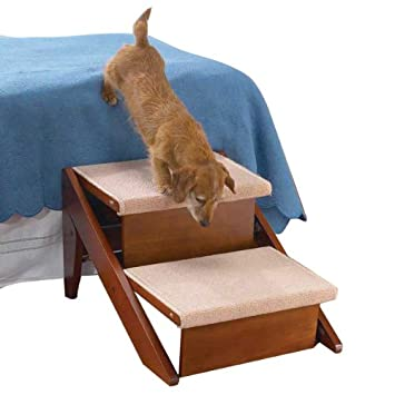 Pet Studio 2 step ramp steps convertible