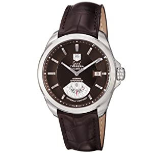 TAG Heuer Men's WAV511C.FC6230 Grand Carrera Automatic Certified Watch