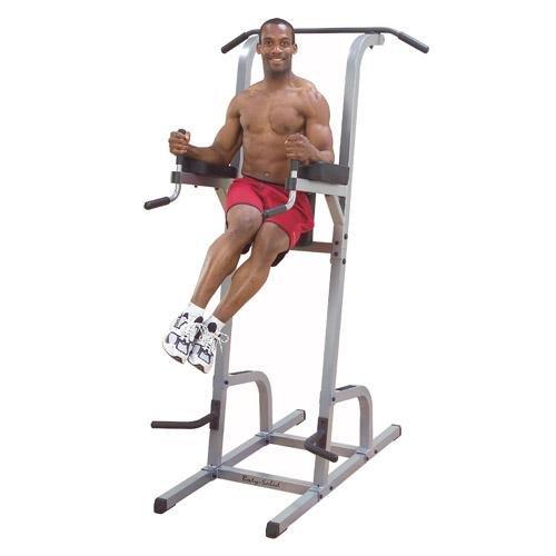 Bodysolid ボディソリッド バーチカル二ーレイズ&ディプス&チンニング  GVKR-82 (パワーグリップ付)(広背筋、大胸筋、腹筋を強化)
