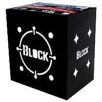 Field Logic Block Black B 20 Archery Target (20x20x16)
